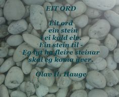 Olav H. Hauge EIT ORD Food, Meal, Essen, Hoods, Meals, Eten