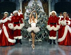 """White Christmas, my favorite movie. I watch it 4-5 times a year! I called it the """"Christmas dancing movie"""" I used to pretend I was that girl :)"""