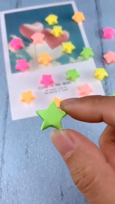 If you properly fold just a regular sheet of paper, you can get something amazing, like this star! It is a great tiny gift or a home decor piece! Diy Crafts Hacks, Diy Crafts For Gifts, Diy Arts And Crafts, Creative Crafts, Easy Crafts, Cool Paper Crafts, Paper Flowers Craft, Paper Crafts Origami, Instruções Origami