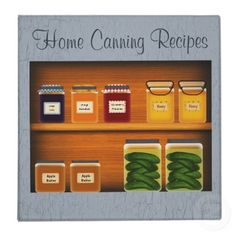This Home Canning Recipe Binder features all mouse drawn art. Perfect for holding all your canning recipes. Also makes a great gift idea!