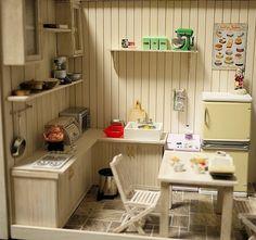White kitchen - Hayaty's Room