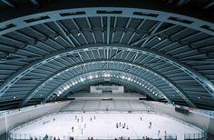 City of Jaca Hockey Arena   Jaca, Spain   Coll-Barreu Arquitectos   photo by Aleix Bagué
