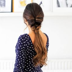 9 Glamorous Summer Ponytail Hairstyles for 2019 : You Must Try it! Source by st 9 Glamorous Summer Ponytail Hairstyles for 2019 : You Must Try it! Source by stephanieannb Easy And Beautiful Hairstyles, Easy Summer Hairstyles, Cool Braid Hairstyles, Pretty Hairstyles, Summer Ponytail, Fancy Ponytail, Twisted Ponytail, Chignons Glamour, Braid Styles