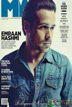 RESILIENT AND UNBEATABLE EMRAAN HASHMI ON THE COVER OF MANS WORLD  #EmraanHashmi #bollywoodnazar