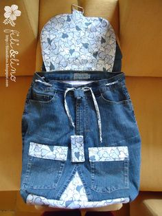 Hello everyone :D   I received a custom order to recycle my friend's old jeans. She had the jeans since her primary school era.         She ...