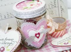 Love Notes Jar by Melissa Phillips for Papertrey Ink (December 2013)