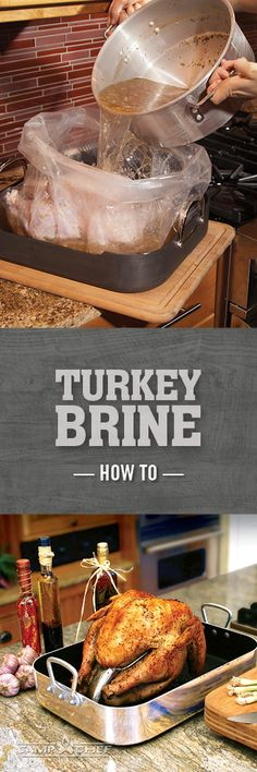 Brining your turkey for Thanksgiving doesn't have to be complicated. This recipe is simple and will give your turkey the moisture and flavor you dream of for that big feast. All you need is a bucket, some water, and seasonings. Ready to get started? Thanksgiving Recipes, Fall Recipes, Holiday Recipes, Brine Recipe, Brining Turkey Recipe, Alton Brown Turkey Brine, Smoked Turkey, Vegan, Thanksgiving