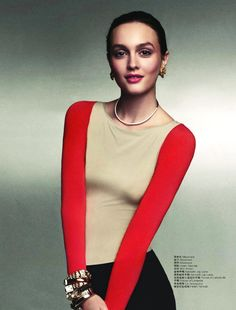 The Queen B – Gossip Girl star Leighton Meester takes to the pages of  April s L Officiel China in jewel toned spring looks styled by fashion  editor Peju… 89061bae1e