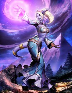 Fantasy,Fantasy art,art,арт,красивые картинки,Warcraft,Игры,Blizzard,Blizzard Entertainment,фэндомы,Warcraft art,draenei
