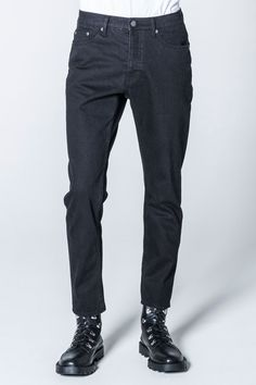 Cheap Monday Image 1 of In Law Rinse Black Jeans in Rinse Black