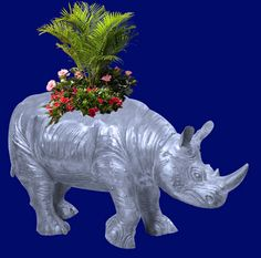 Rhinoceros- Zambia Rhinoceros Planter