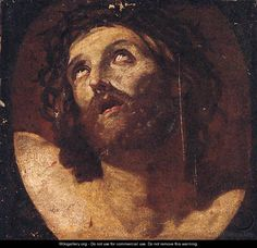 Christ crowned with thorns 2 - (after) Guido Reni