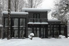 BONE Structure house - steel construction system homes with high efficiency, high precision assembly and speed. (**I like plans 84 and Decoration Inspiration, Metal Homes, New Home Designs, Take Me Home, Prefab, Exterior Design, Modern Architecture, Construction, Modern Design