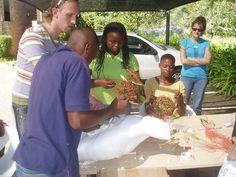 Formation en Afrique du sud pour des jeunes issus de Soweto à Johannesburg.