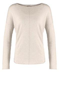 Zalando Essentials Sweter - beige melange za 119 zł (25.10.15) zamów bezpłatnie na Zalando.pl.