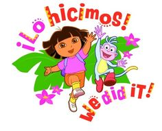 Image result for we did it dora gif