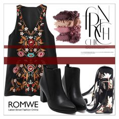 """""""Romwe 9/17"""" by goldenhour ❤ liked on Polyvore"""