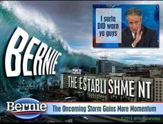 The storm it's coming and it's name is BERNIE
