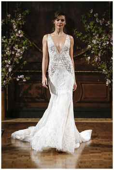 Wedding dress by Isabelle Armstrong from the Spring 2017 collection. Image courtesy of Isabelle Armstrong.