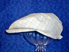 Toddler Newsboy Hat Flat Cap Plaid by AdorableandCute on Etsy, $20.00