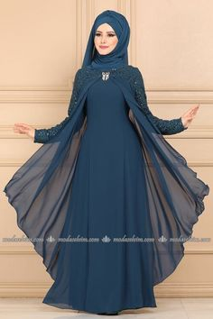 Hijab Evening Dresses Hijab Evening Dresses and Prices Page 7 Dress Indian Style, Indian Fashion Dresses, Abaya Fashion, Muslim Fashion, Fancy Dress Design, Stylish Dress Designs, Stylish Dresses, Pakistani Dresses Casual, Pakistani Dress Design
