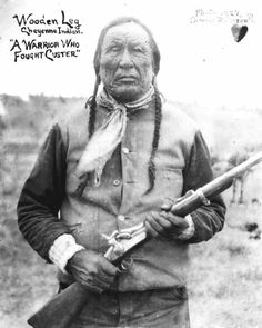 Wooden Leg, a Cheyenne Warrior who fought Custer