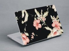 Pink flowers  www.expresswallsuk.co.uk Laptop Skin, Pink Flowers, Notebook, Exercise Book, Pink Blossom, The Notebook