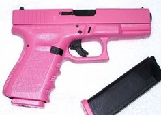 Ummmm.... want one now please.   Matter of fact, I've been wanting a pink gun for years now.