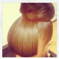 I'm in love with this bun