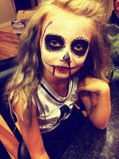 Turned my cousin into a dead cheerleader for halloween | Holidayss ...