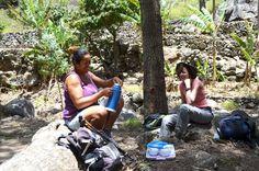 Picnic lunch in Santo Antao, Cape Verde