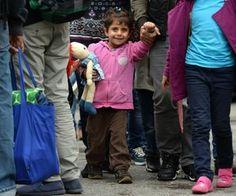 Flüchtlinge am Münchner Hauptbahnhof