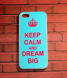 (6) Fancy - Iphone 5 Case, New IPhone 5 Case Keep Calm And Dream Big Pink Color Font Iphone 5 Cover, IPhone 5 Ca on Luulla