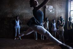 "1st Place, ""Slum Ballet"" by Fredrik Lerneryd | World Photography Organisation Ballet Studio, Ballet Class, Ballet Dancers, World Photography, Photography Awards, Nairobi, Visual Metaphor, Kinds Of Dance, Ballet Clothes"