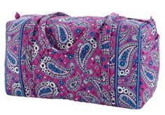 b368254caf Large Duffel Travel Bag. Vera Bradley ...