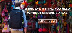 Tortuga Backpacks: Bring everything you need without checking a bag.