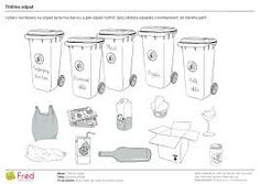Výsledek obrázku pro recyklace pracovní listy
