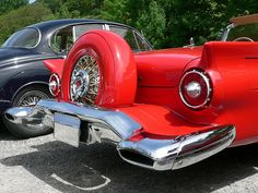 1957 Thunderbird Convertible with continental kit