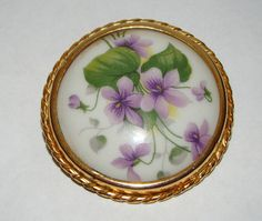 Antique Limoges Porcelain Dresser Box Trinket Box Coiffe Porcelain