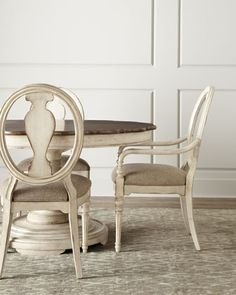Shop Tabitha Dining Furniture at Horchow, where you'll find new lower shipping on hundreds of home furnishings and gifts. Value Furniture, Hooker Furniture, Furniture Sale, Dining Room Furniture, Furniture Design, Painted Furniture, Refinished Furniture, Furniture Makeover, Dining Room Chairs