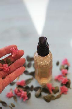 Homemade Herbal Tea Face Mist For Spring