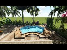 modern house with lumion & sketchup