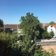 #Ausblick #Jugendherberge #Nürnberg #TYPO3 #t3dd16 #Sommer #blauerHimmel