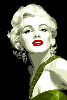 Marilyn Monroe by ~vosvoskedi on deviantART || This image first pinned to Marilyn Monroe Art board, here: http://pinterest.com/fairbanksgrafix/marilyn-monroe-art/ ||