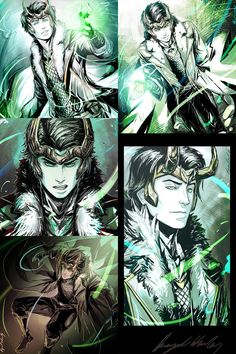 YA Loki collection by Abz-J-Harding on deviantART