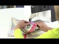 how to make Little bow bag