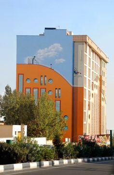 Murales en los edificios de Teheran | Dhampire