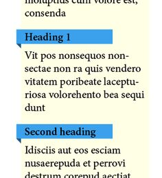Create a Fold Back Effect for a Heading in InDesign