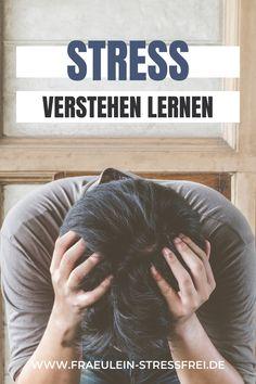 Hier findest du wesentliche Informationen rund ums Thema Stress. Es gibt positiven und negativen #Stress - genannt #Eustress und #Distress Positive And Negative, Round Round, Learning, Projects