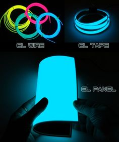 #EL Wire #EL tape EL panel EL light #GEEKLED
